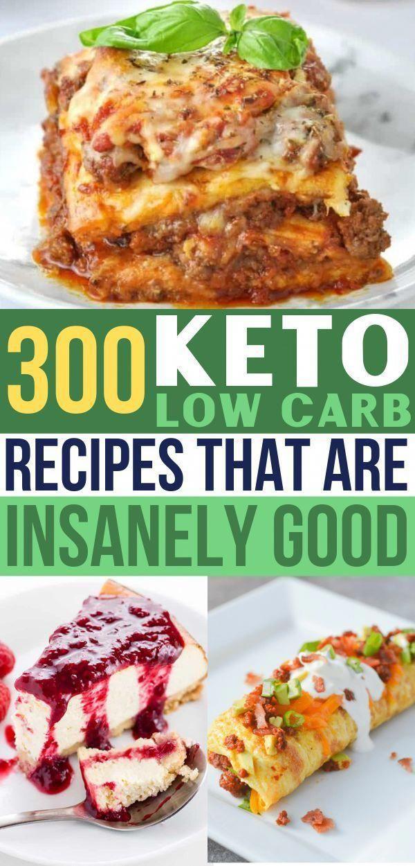 So viele Keto-Rezepte zur Auswahl! Low Carb Mahlzeiten zum Frühstück, Mittagessen, einfach …