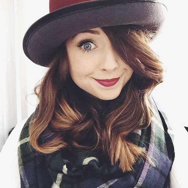 YouTuber Zoe Sugg aka Zoella...
