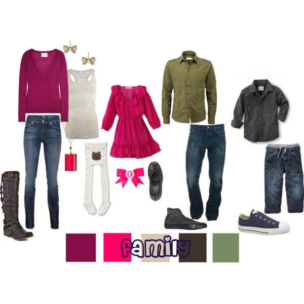 Picture Day Outfit Ideas    Late fall/early spring outfits - colors for anytime.