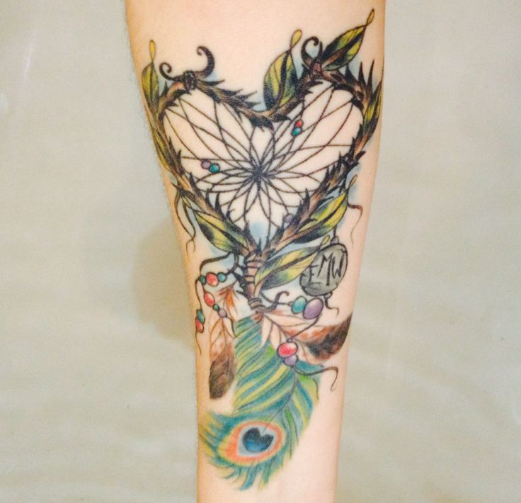 Eagle feathers, Memorial tattoos and Dream catchers on ...