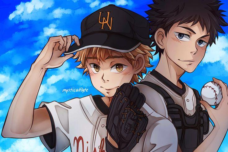 Oofuri the baseball anime of perpetual blushes