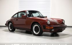 1985 911 special ordered (L999) Garnet Red/ Black 3,984 miles