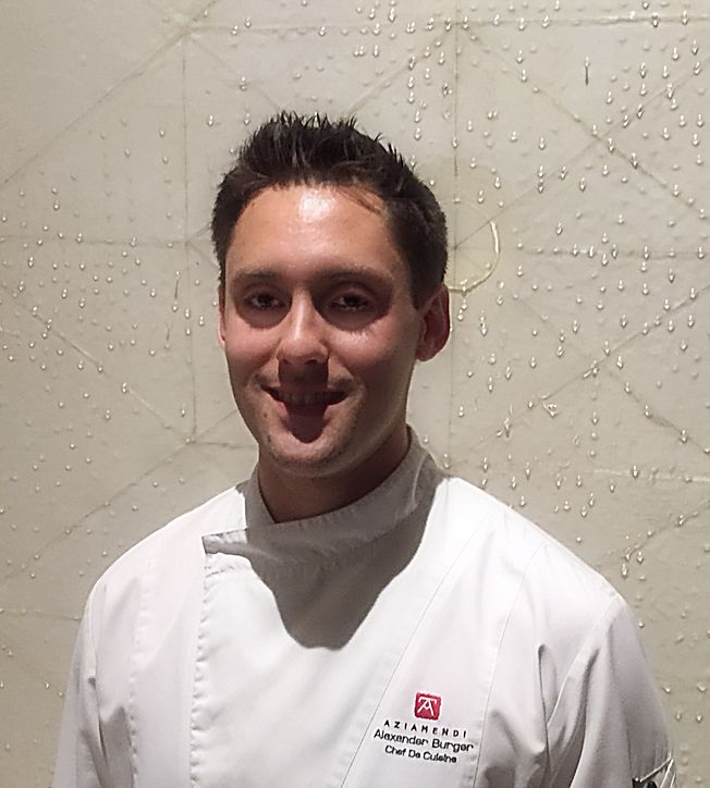 5 minutes with...Chef Alex Burger