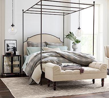Aberdeen Canopy Bed #potterybarn