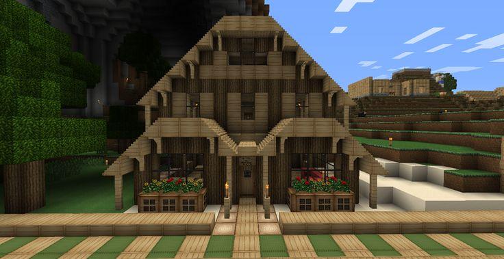 Magnifique maison minecraft id es pour la maison pinterest belle and mi - Comment avoir une belle maison ...