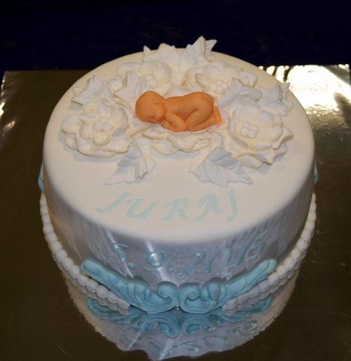 Krstinové torty » Torta Krstinová pre Jurka