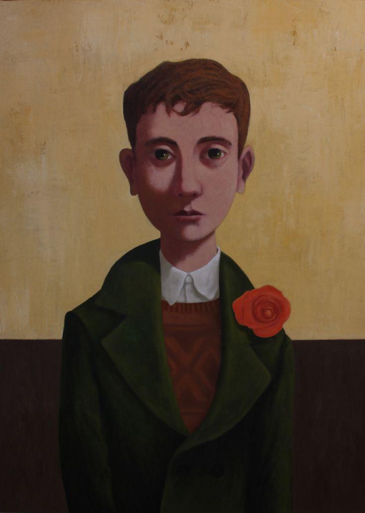"""Boy in a Green Coat"" by Kent McCormack"