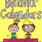 Keep track of students conduct with the monthly behavior calendars. This set is for the 2014-2015 school year. Includes 12 months....