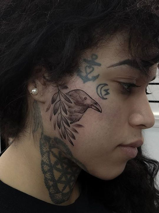 Olio Jobstopper Tattoo By Cara From The Mountain Mule Tattoo Company 20170110 Tattoos Tattoo Images Behind Ear Tattoo