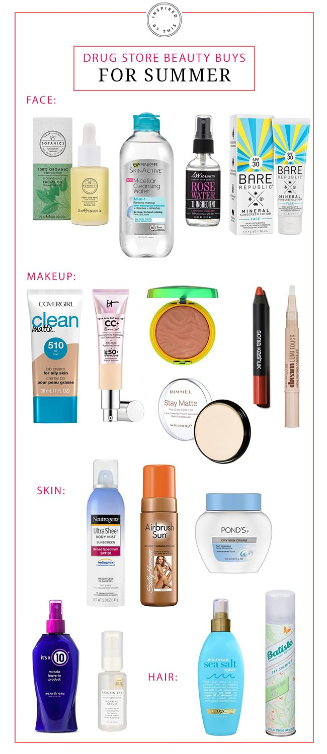 Our Drug Store Beauty Buys for Summer