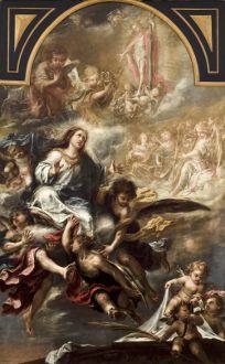 Asunción de la Virgen VALDÉS LEAL, Juan de (Sevilla, 1622 - 1690) Óleo sobre Lienzo 315 x 200 cm. h. 1670