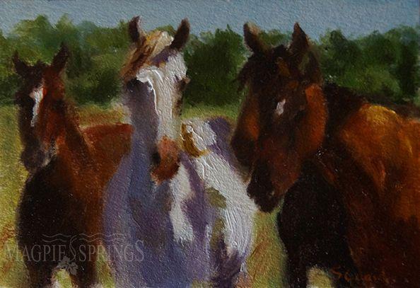 A Pale Horse � Shirley Quaid