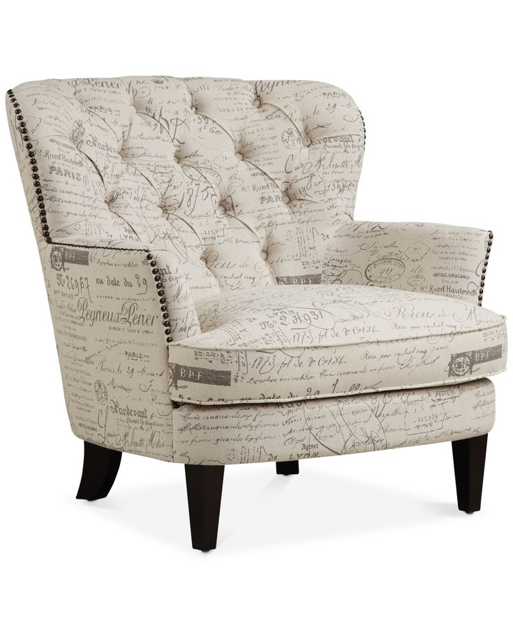 Royden Upholstered Armchair Quick Ship White With