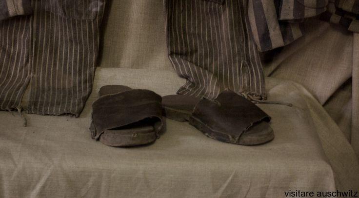 Calzature dei deportati uccisi