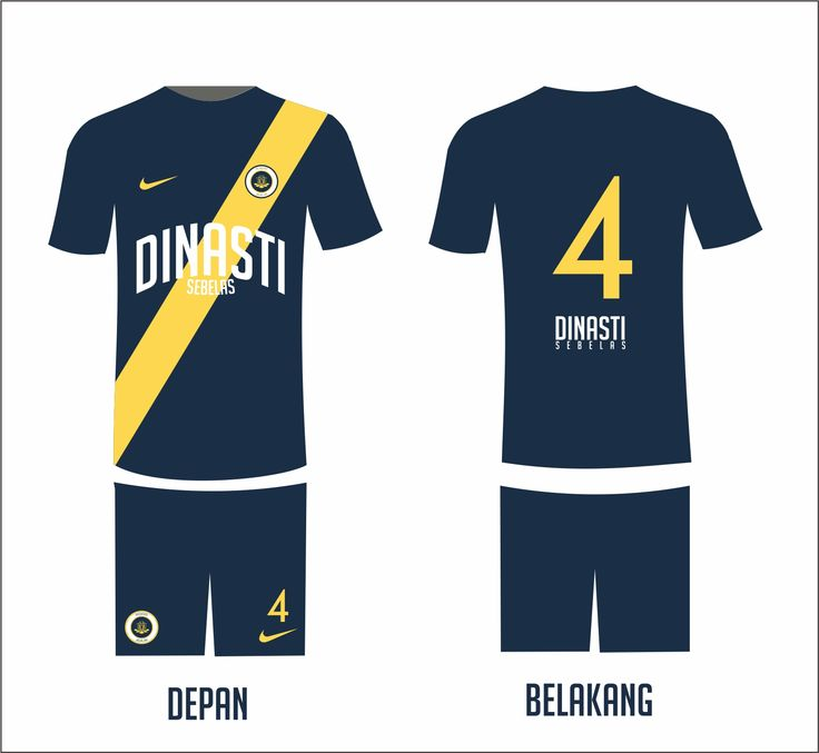Dinasti11. Mendiro-Jagalan. Futsal Jersey.