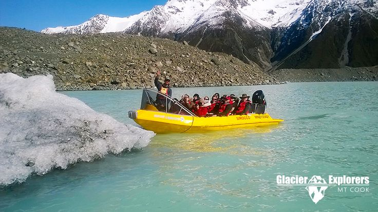 Glacier Explorers tour, Mt Cook, September 2014.