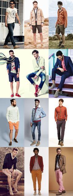 Men's Desert Boot Outfit Inspiration For Summer