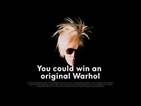 Andy Warhol Art Exchange By Absolut - Join the creative movement now - YouTube