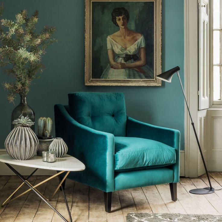 Deep Dream Armchair And Footstool