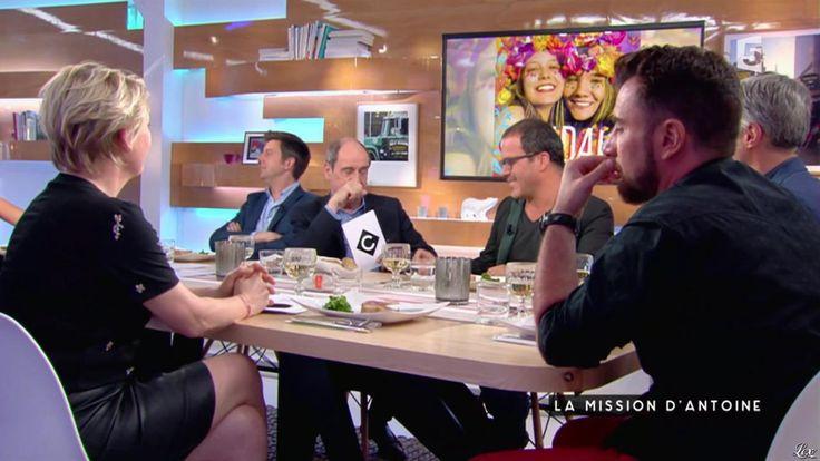 Anne-Elisabeth Lemoine dans C à Vous. Diffusé à la télévision le 24/06/16.