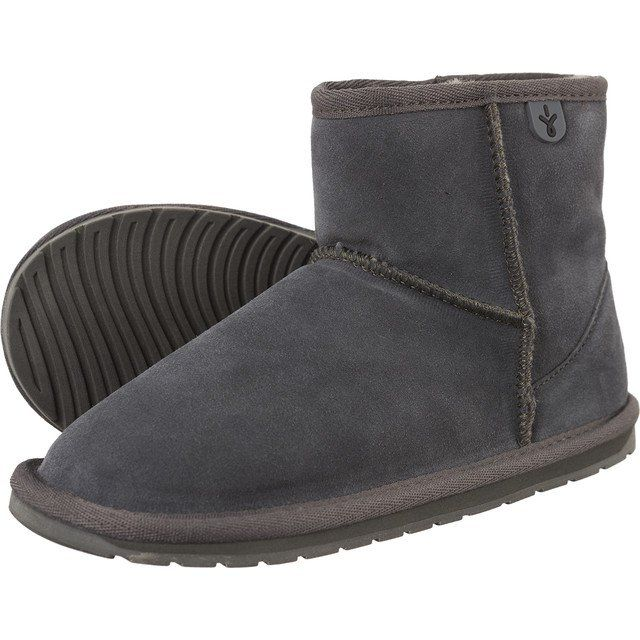 Sniegowce Dla Dzieci Emuaustralia Emu Australia Szare Wallaby Mini Charcoal Ugg Boots Boots Uggs