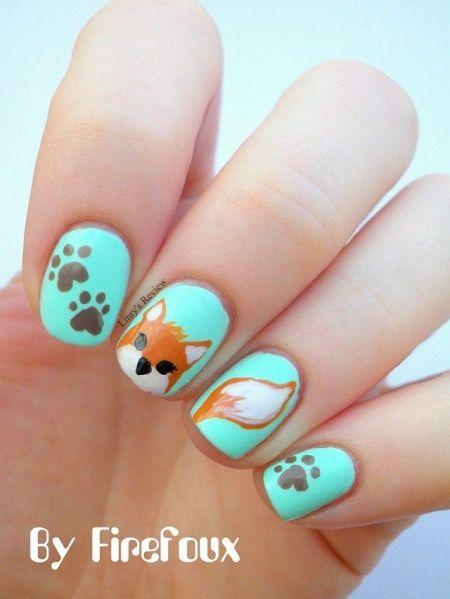 20 Diseños de uñas para los amantes de los animales ⋮ Es la moda