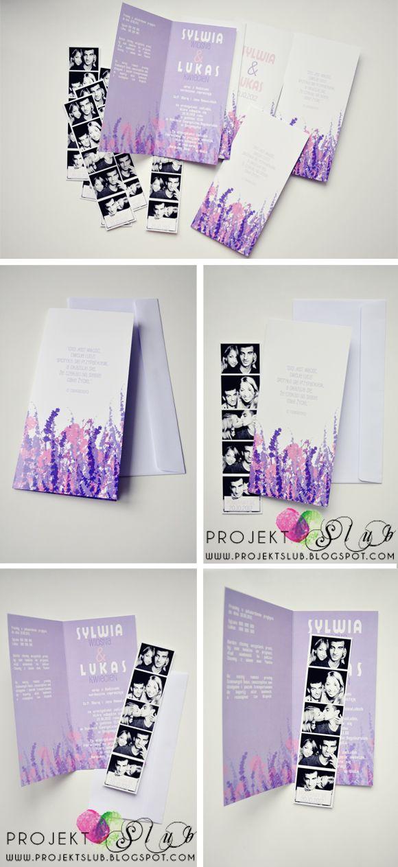 projekt ŚLUB - zaproszenia ślubne, oryginalne, nietypowe dekoracje i dodatki na wesele: wrzosowy