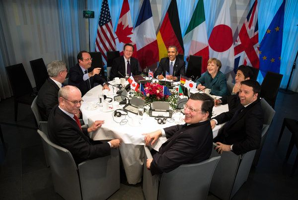 New York Times: March 25, 2014 - Russia is ousted from Group of 8 by U.S. and allies