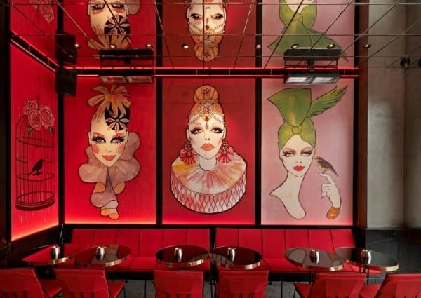 İstanbul'da Kesinlikle Kendine Has Dekorasyona Sahip Mekanlardan Biri; Gigi Restaurant - İstinye Park / Sarıyer