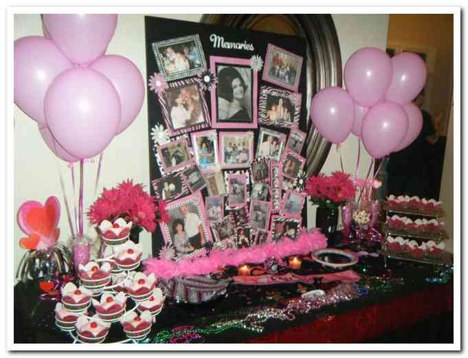 Ideas For A 70th Birthday Party Woman