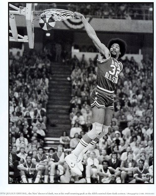 Dr. J Julius Erving The matchup with Bobby Jones and Dr. J was the best of basketball when I was a kid. Good to see players like LeBron James carrying the torch.