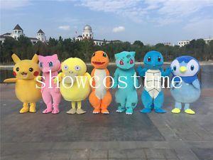 New 7 Kinds Pokemon Go Pikachu Fancy Party Dress Mascot Costume Halloween Adult | eBay