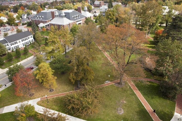 Aerial shots of Ashland University campus are awesome this time of year! ~via Ashland University