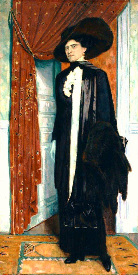 """Κωνσταντίνος Παρθένης, """"Ιουλία Παρθένη"""", 1911-1914. Αθήνα, Εθνική Πινακοθήκη - Μουσείο Αλεξ. Σούτζου"""