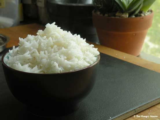 How to cook perfect white rice on the stove. Simple step-by-step instructions + cooking ratios for all different kinds of rice.