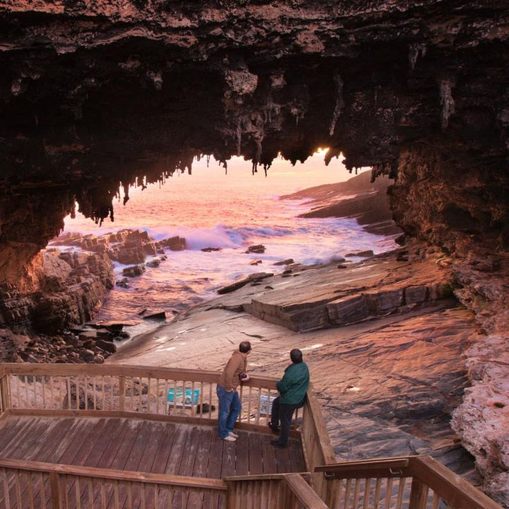 Flinders Chase - Admirals Arch