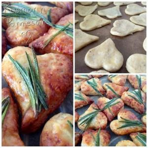 Parmesan Rosmarin Cracker