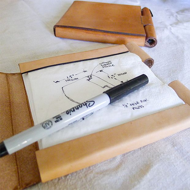 For Your Million Dollar Ideas: Napkin Sketchbook | OhGizmo!