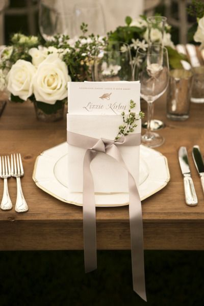 Gorgeous place setting #rusticweddinginspiration #rusticwedding