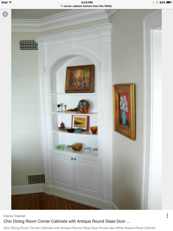 272 best images about Built-in shelves on Pinterest | Corner china ...