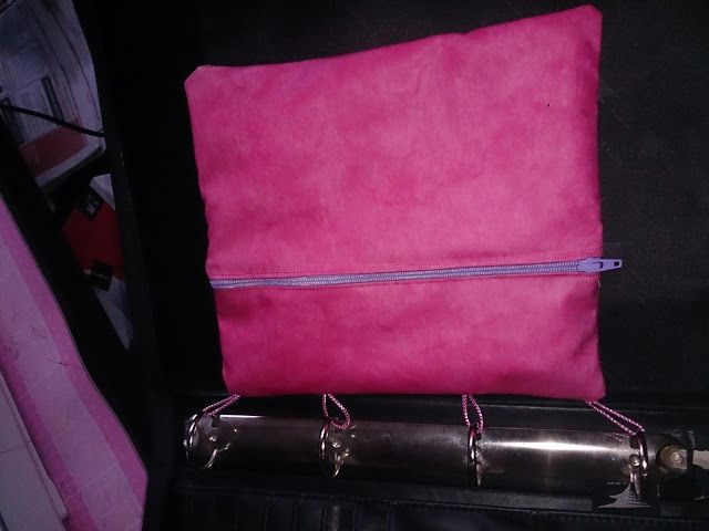 'Hand made' Ring Binder Pencil Case