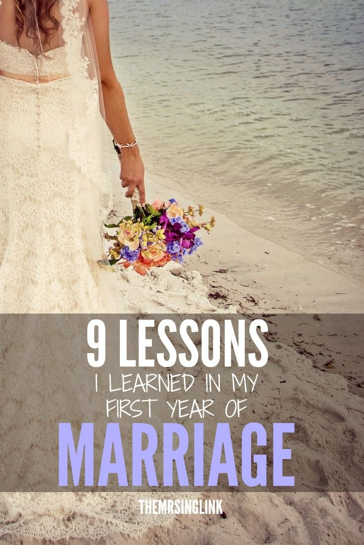 9 Lessons I Learned In My First Year Of Being Married | Marriage Tips | First Year Marital Advice | Newlywed Advice | theMRSingLink