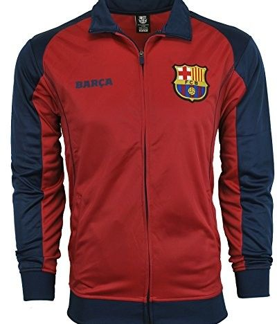 Fc Barcelona Jacket Track Soccer Adult Sizes Soccer Football Official Merchandise #sports