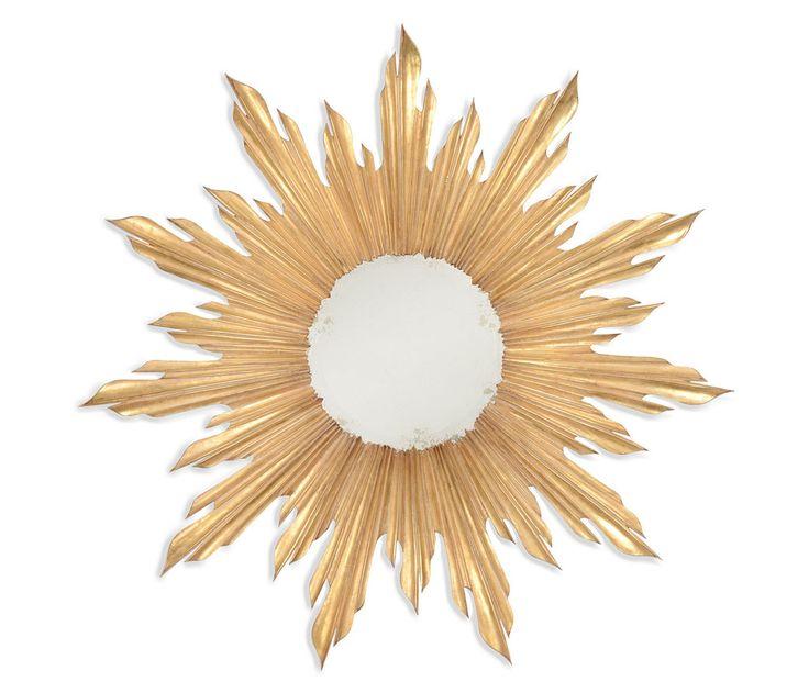charlene sunburst mirror vanity mirror co gorgeous sunburst mirror in gilted gold