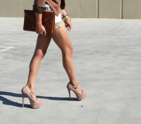 very. good. legs. (and shoes.)