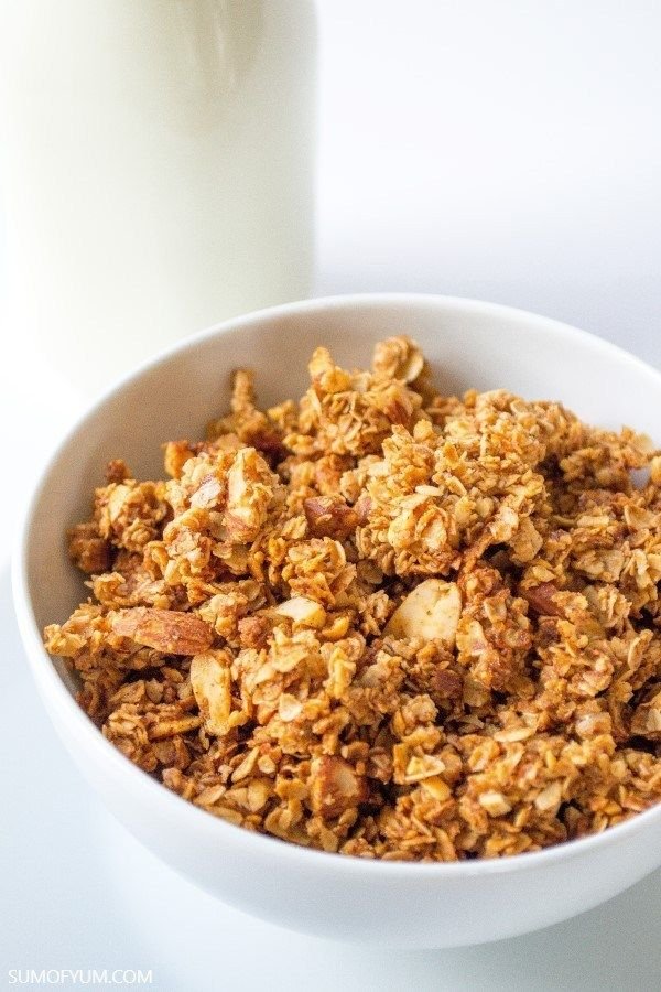 Cinnamon Honey Nut Granola