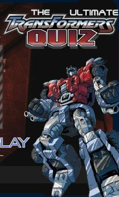 Ultimate Transformers Quiz game online