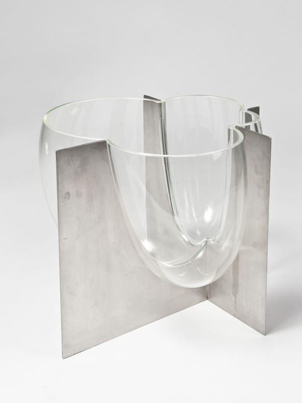 Lot : Carlo Nason (1936) - Vaso vetro soffiato circa1969.. | Dans la vente Arts Décoratifs du XXème siècle, Design à Il Ponte Casa d'Aste