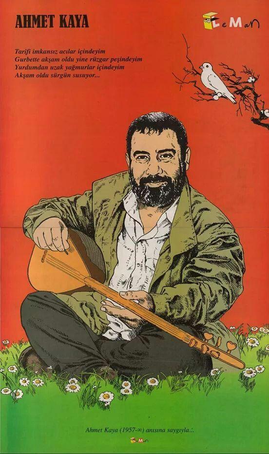 Ahmet Kaya karikatür