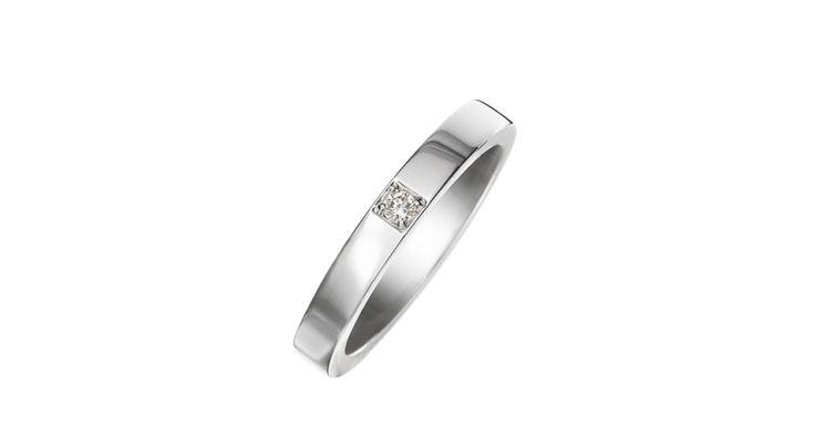 Marryme プラチナ製ダイヤモンド結婚指輪 AN854104 - ブルガリの公式サイトにて、格調高きイタリアンジュエラーとしてのブルガリとそのコレクションをご覧ください。